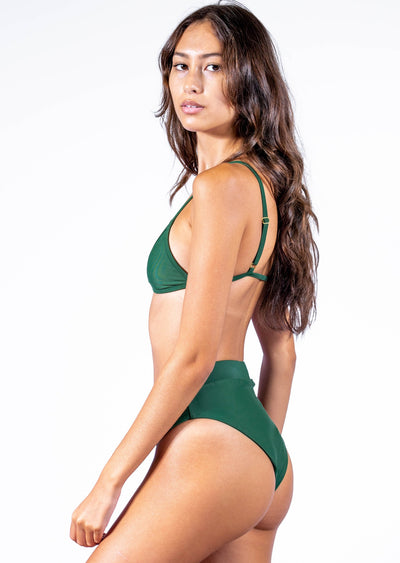 Sustainable High Waisted Bikini Bottom