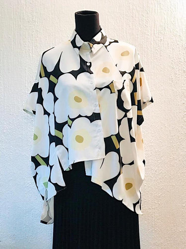 Printed Cotton Viscose Shirt