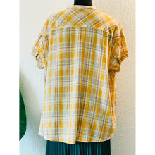 Yarn Dyed Woven Top
