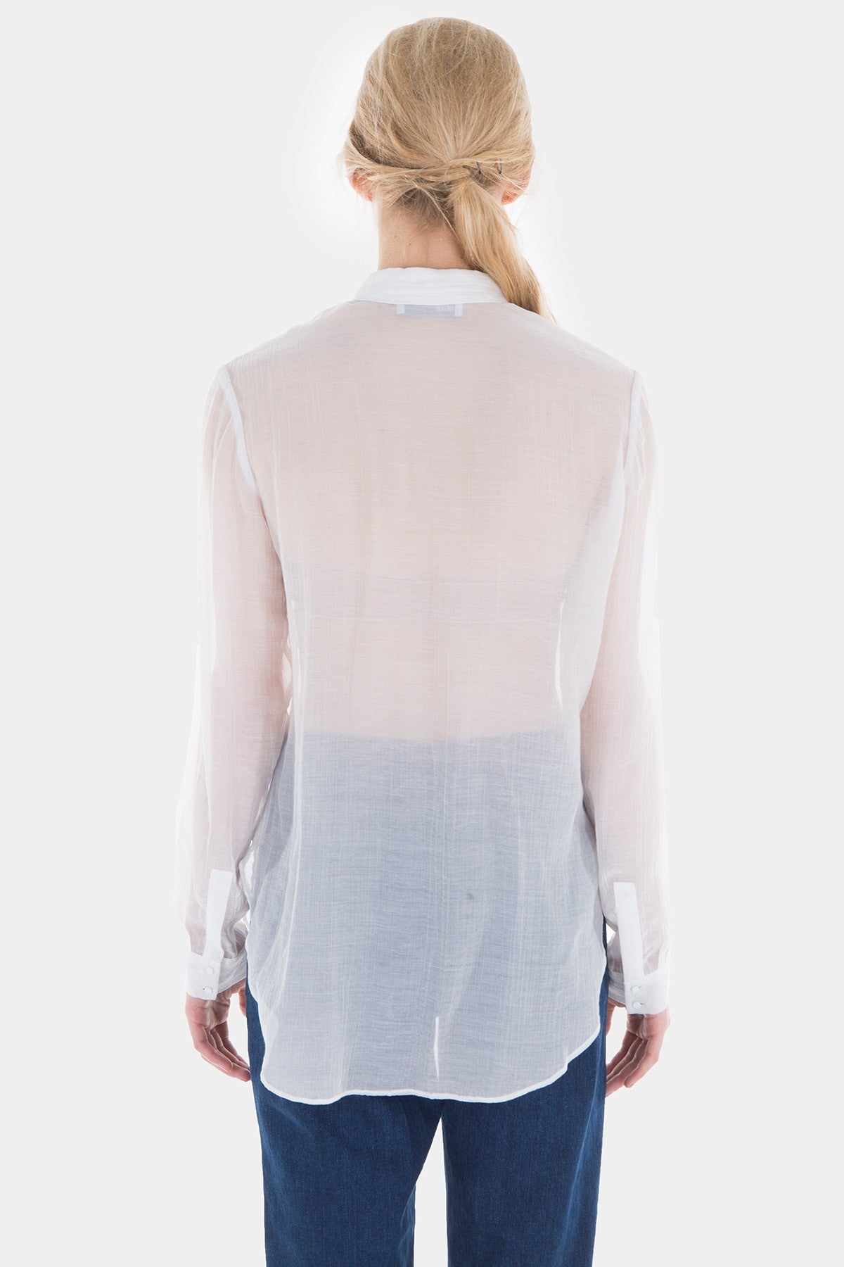 Journey To The Past Sheer Long Sleeved Shirt