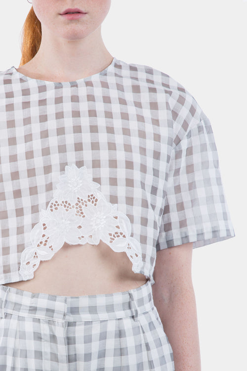 Little Shield Crop Top