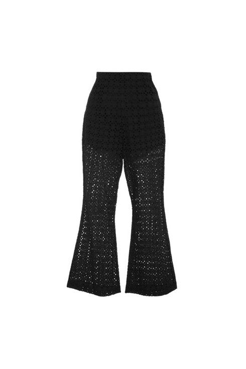 Mrs Fox High Waist Flared Pants