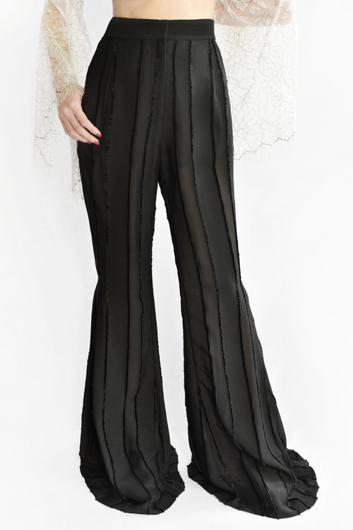 Night Fever Flare High Waist Pants