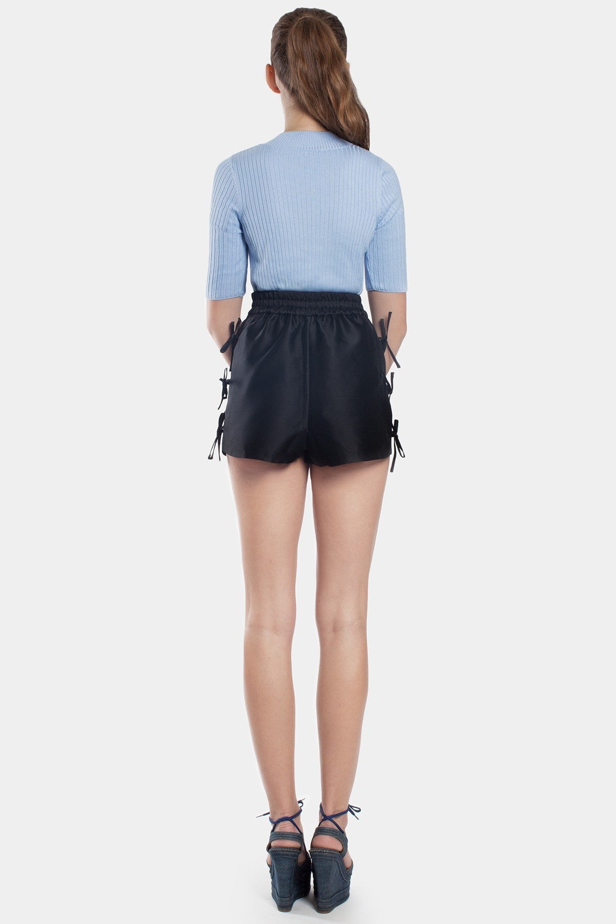 Revolution Bow Applique Shorts