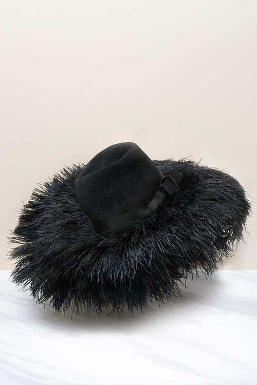 Marylin Hat (Feathers)