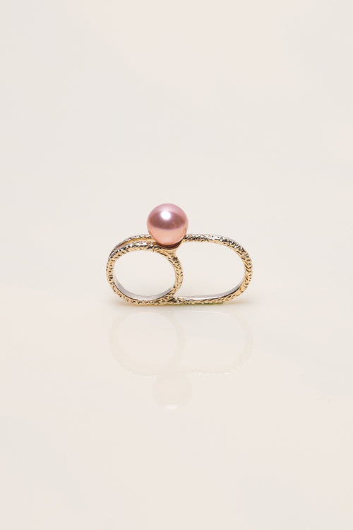 Precise Pearl Ring