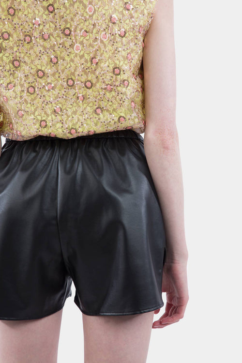 Faux Leather Boxers