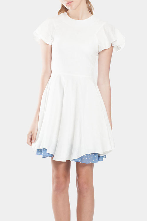 Walker Puff Sleeve Dress