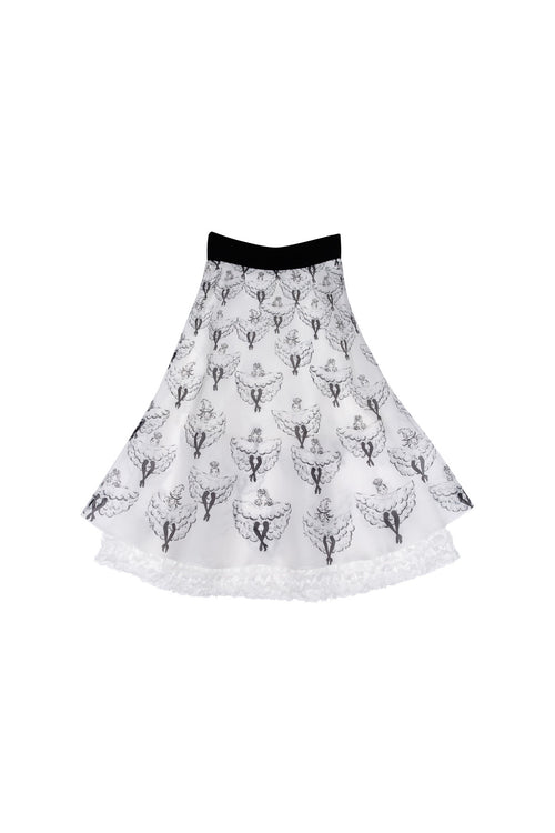 Cancan Dance Midi Skirt