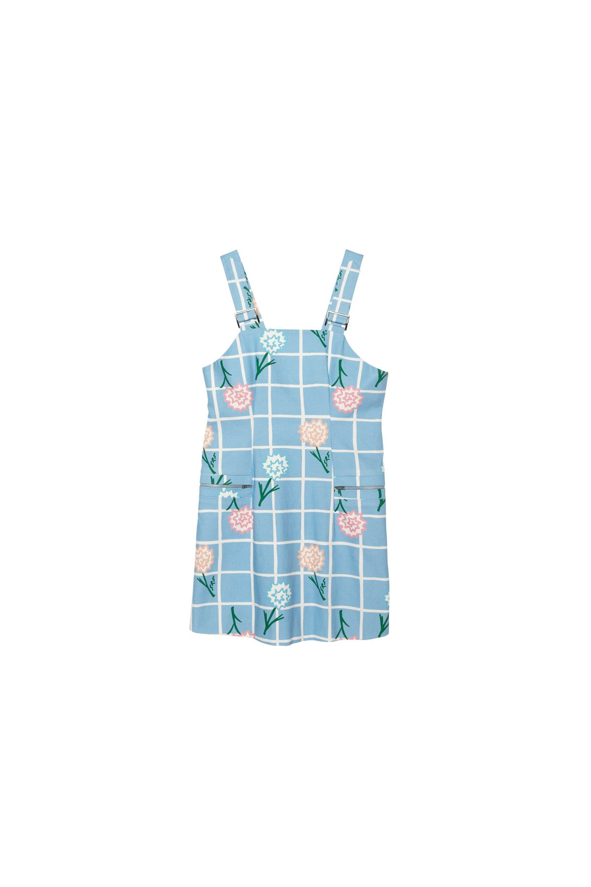 Carnation Overall Dress