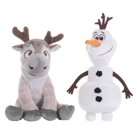Disney Frozen Olaf/Sven 20cm Soft Plush Toy