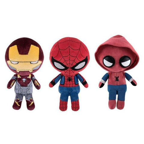 "FUNKO Spiderman Homecoming Collectible 8"" Plush"