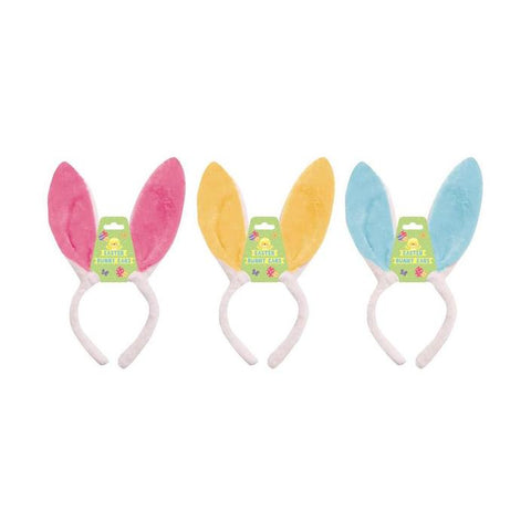 EASTER BUNNY SOFT COLOUR HEADBAND