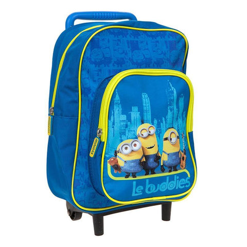 Minions Kids Travel Trolley Bag