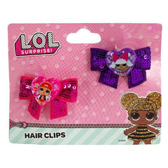 LOL Surprise Hair Clips 2pk Set