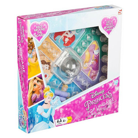 Disney Princess Pop Up Dice Board Game