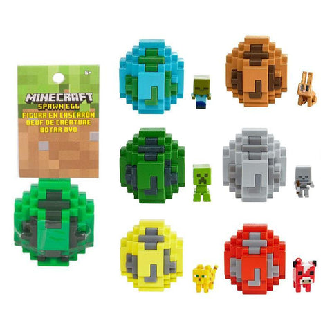 Minecraft Spawn Egg Mini Figure
