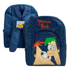 Phineas And Ferb Character Kids Backpack