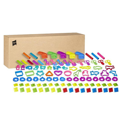 Play Doh 100pc Assorted Tools Value Pack