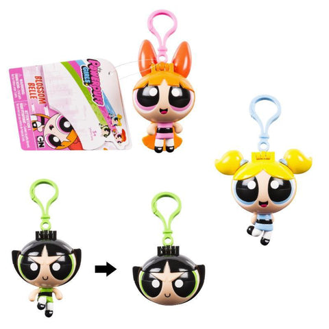 Powerpuff Girls Flick N Reveal Keychain