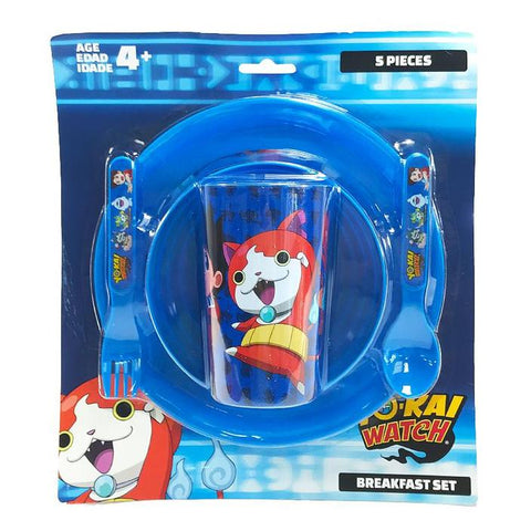Yo-kai watch 5pc dinner set
