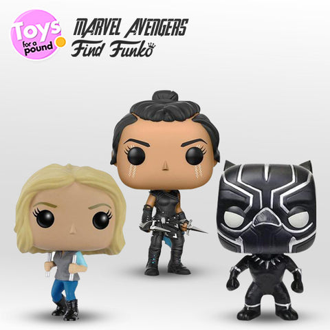 Which Funko Marvel characters are you looking for?
