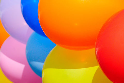 "fill balloons with sweets and treats for the ""balloon pop"" Easter game"