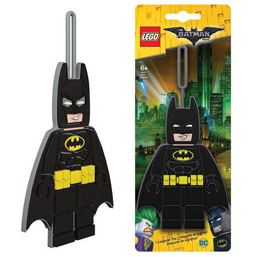 BATMAN LEGO MOVIE LUGGAGE TAG