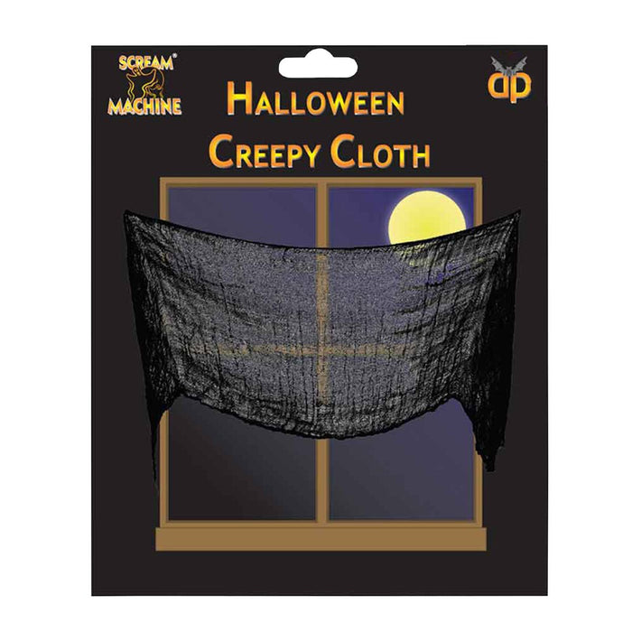 Creepy Cloth Black