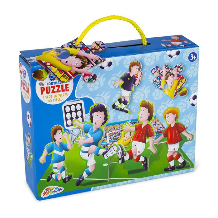 Grafix Football Puzzle 45pc Jigsaw Set