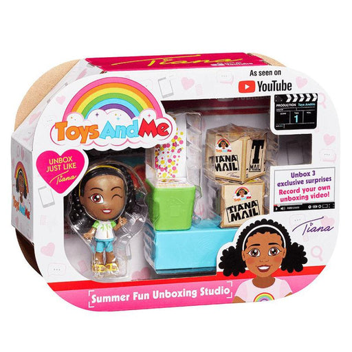 TOYS & ME TIANA SUMMER FUN UNBOXING STUDIO