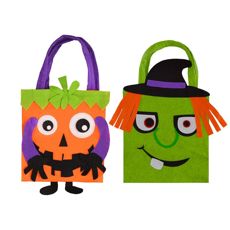 FELT SCARY CHARACTER BAGS