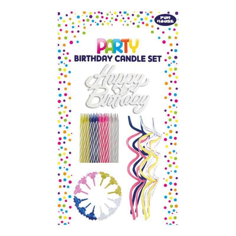 BIRTHDAY CANDLE ASSORTED SET