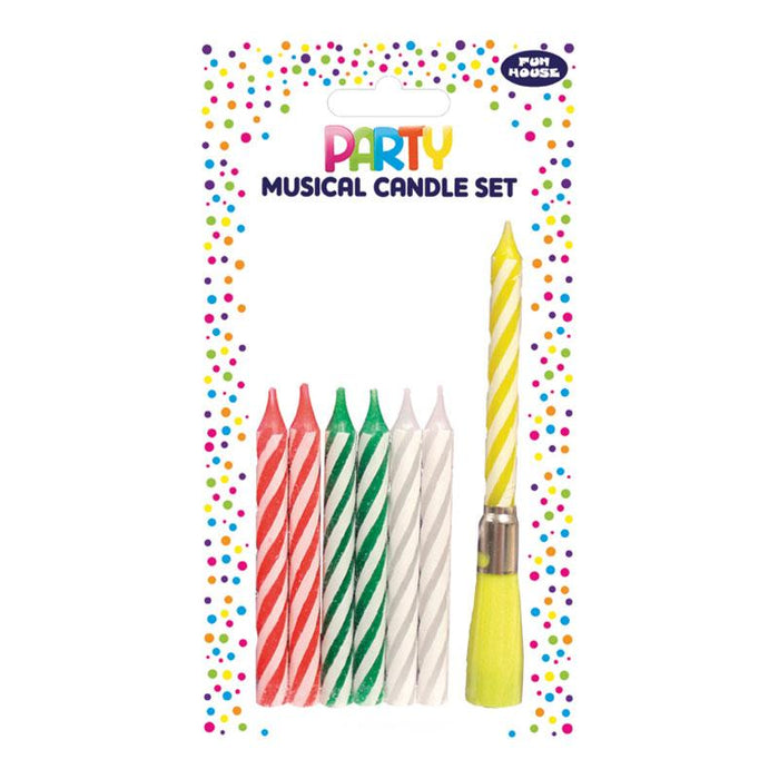 MUSICAL CANDLE ASSORTED SET