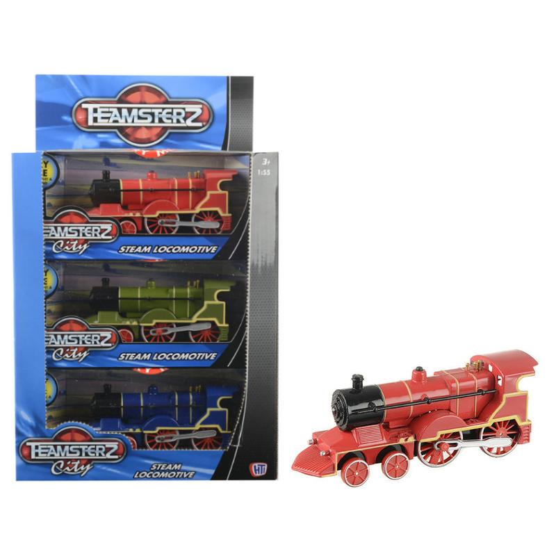 TEAMSTERZ STEAM LOCOMOTIVE