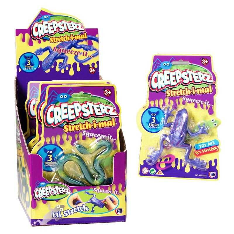 CREEPSTERZ STRETCH-I-MAL STRETCHY ANIMAL