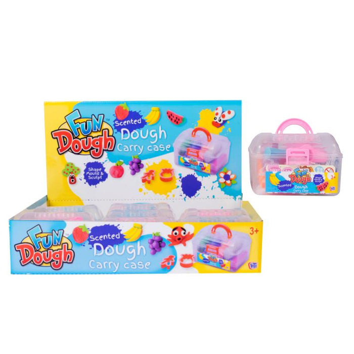 SCENTED DOUGH MINI CARRY CASE PLAY SET