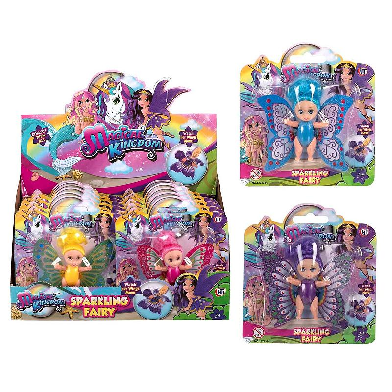 MAGICAL KINGDOM SPARKLING FAIRY MINI DOLL & MOVING WINGS