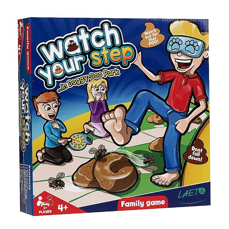 WATCH YOUR STEP DOGGY POOP PARK FAMILY GAME