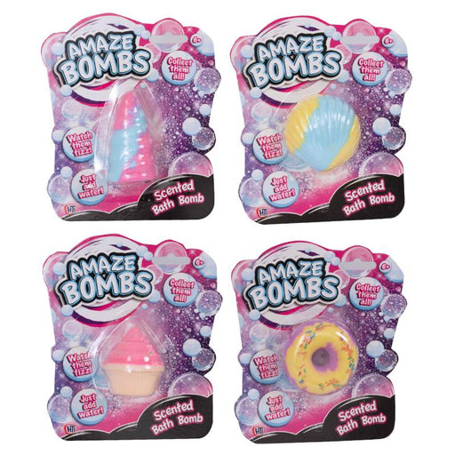 AMAZE BOMBS SHAPED SCENTED BATH BOMB