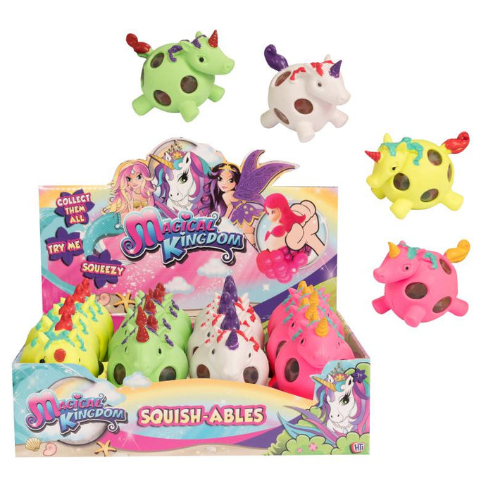 MAGICAL KINGDOM SQUISHABLE UNICORN SQUEEZE BALL