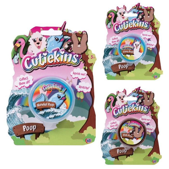 CUTIEKINS ANIMAL POOP PUTTY