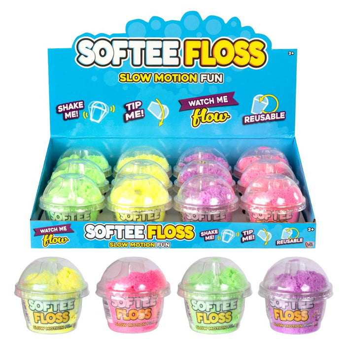 Softee Floss Magic Slow Motion Mini Pot