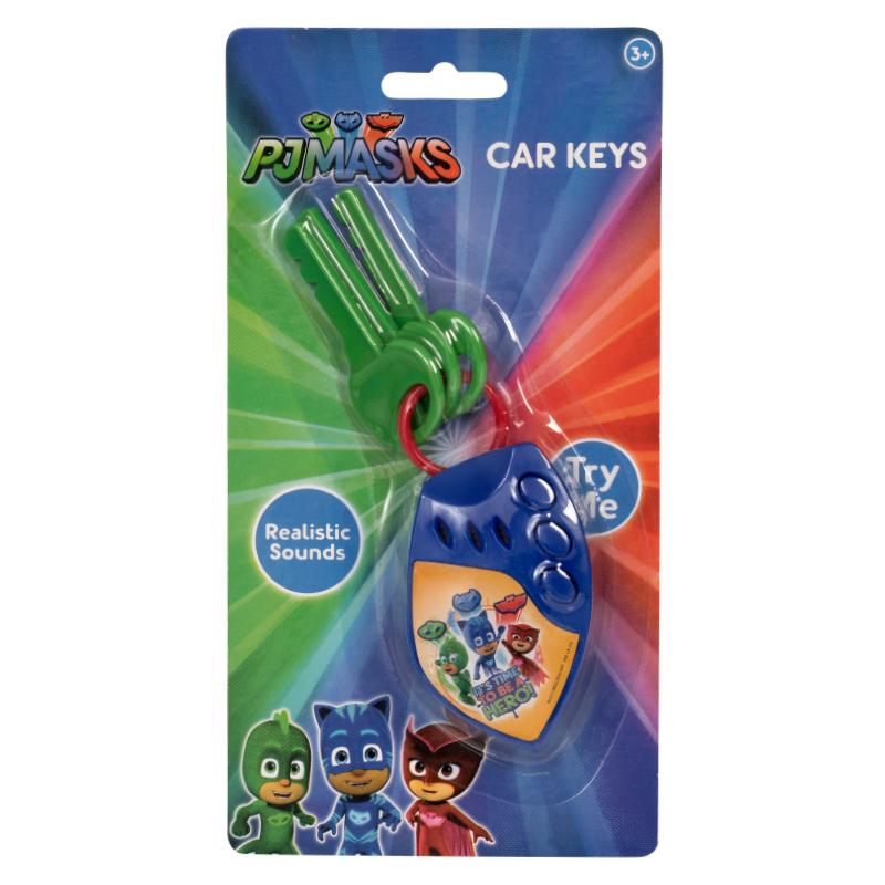 PJ MASKS CAR KEYS WITH SOUNDS