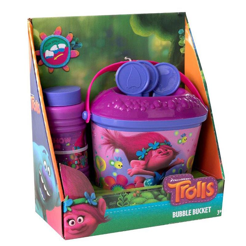 DREAMWORKS TROLLS BUBBLE BUCKET SET