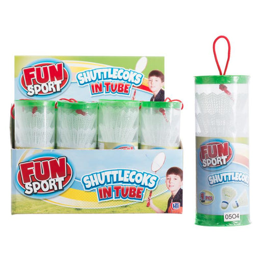 4PK SHUTTLECOCKS TUBE