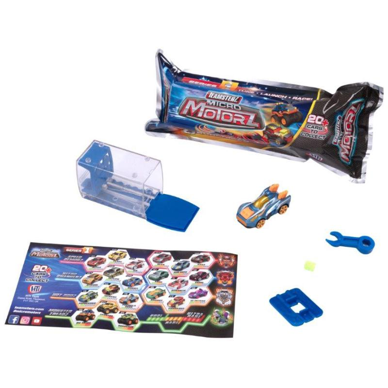 TEAMSTERZ MICRO MOTORZ BLIND BAG PLAY SET