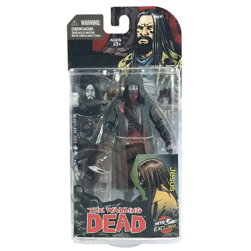 The Walking Dead Jesus Skybound McFarlane Action Figure