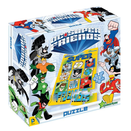DC SUPER FRIENDS 24PC A3 SIZE JIGSAW PUZZLE (YELLOW)