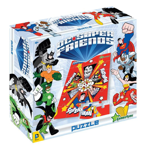 DC SUPER FRIENDS 24PC A3 SIZE JIGSAW PUZZLE (RED)